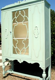 Another vintage China Cabinet by Bellablakely Uptown Vintage Furniture