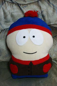 Купить Стен Марш. Сауз парк - герои мультфильмов, подарок, подушка-игрушка, подушка