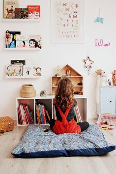 Kid Tested, Adult Approved: Grown-Up Decorating Lessons Inspired by Kids Rooms bedroom decor Deco Kids, Kids Room Design, Room Kids, Parents Room, Child Room, Little Girl Rooms, Kid Spaces, Girls Bedroom, Bedroom Decor