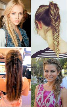 12 Pop Simple Fishtail Braid Hairstyles