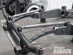 Quarter elliptical front suspension....doing this on my rat rod Jeep