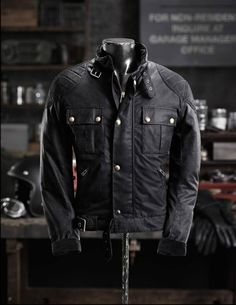 2014 Belstaff BrookLands Blouson #MotorcycleApparel