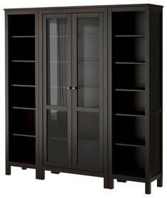HEMNES Storage combination - modern - bookcases cabinets and computer armoires - IKEA