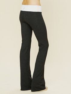 Solow Sport Pilates Flare Pants at Free People Clothing Boutique
