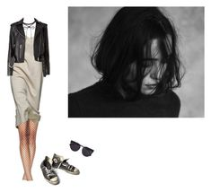 """""""so shut up and close your eyes"""" by melancholiah ❤ liked on Polyvore featuring Vera Wang and Converse"""