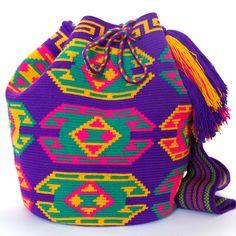 Hermosa Wayuu Mochila Bag   WAYUU TRIBE – WAYUU BAGS   Free Shipping - USA   Global