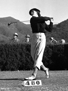 Babe Didrikson Zaharias was a pioneering LPGA member, but she found her Olympic success in track and field. At the 1932 Summer Olympics in Los Angeles, she won gold in both the 80-meter hurdles and javelin throw, and took silver in the high jump.