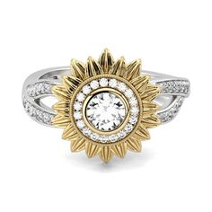 These Jewelry Answers Include Data You Just Can't Find Anywhere Else – Modern Jewelry Chanel Jewelry, Jewelry Box, Jewelry Rings, Vintage Jewelry, Daisy Jewellery, Jewellery Shops, Jewlery, Sunflower Ring, Sunflower Jewelry