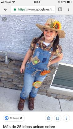 7-Year-Old Creates Cowgirl Costume  a0a3179b4a41