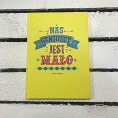 """Śmieszny zeszyt """"nas geniuszy jest mało"""""""