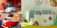 18 idées pour relooker vos meubles sur le thème du célèbre combi Volkswagen