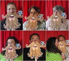 barbas en disfraces