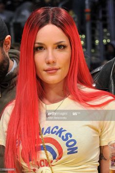 Halsey Singer, Her Music, Hollywood Celebrities, Me As A Girlfriend, Girl Crushes, Hair Color, Celebs, Actresses, My Love