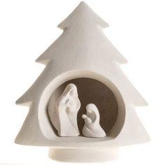 Árbol de navidad , en arcilla refractaria | venta online en HOLYART