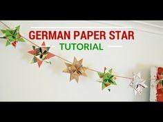 GERMAN PAPER STAR TUTORIAL - Mad in Crafts
