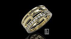 alliance nombre d'or et diamants