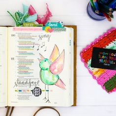 Watercolor Tutorial | Leaning In - Steadfast Love - Illustrated Faith - Illustrated Faith
