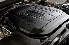 2010 Jaguar XF: 5 litre V8 detail