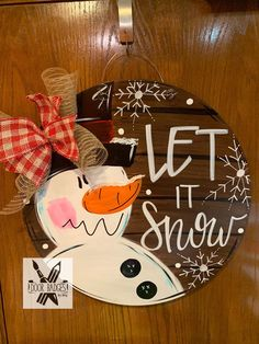 Your place to buy and sell all things handmade Christmas Door Hanger – Snowman Door Decoration – Winter Door Decor, Christmas Wreath – Holi Christmas Signs Wood, Christmas Door Decorations, Christmas Wreaths, Christmas Door Hangers, Fall Door Hangers, Christmas Wood Crafts, Handmade Christmas, Snowman Door, Christmas Snowman