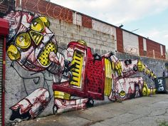 Winsome visions at Bushwick Five Points: See One, Hellbent, Pixel Pancho, Never2501, Shie Moreno & Reka