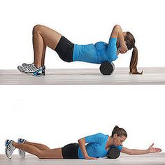 I love rolling out my thighs - it hurts so good! But I never thought of using a foam roller on other muscle groups!