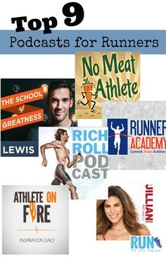 Top 9 Podcasts for Running - Pin now read later when you need something new for your long runs!