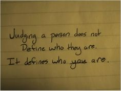 judgement quotes - Google Search