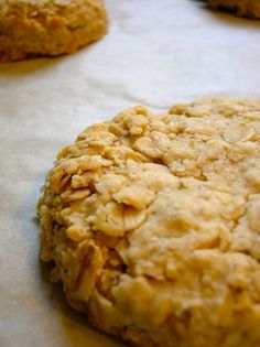 Scottish oat cookies, which look a bit like the certain delightful nobbly oat biscuits I am addicted to Scottish Oat Cakes, Scottish Dishes, Scottish Recipes, Irish Recipes, Sweet Recipes, Scottish Desserts, English Recipes, Cookie Desserts, Cookie Recipes