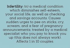 Infertility humor