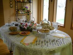 """Photo 1 of 11: Tea Time and Tulips / Bridal/Wedding Shower """"Chelsea's Shower""""   Catch My Party"""