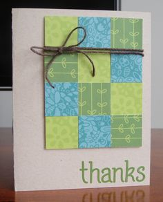 Lawn Fawn Bright Side Collection | Thank You #Card