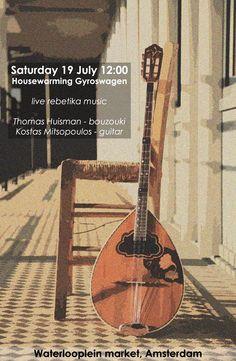 Greek music at Gyroswagen opening day!