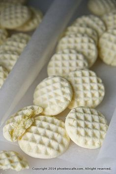 Cornstarch Cookies, Baby Food Recipes, Baking Recipes, Pancakes And Waffles, Pastry Cake, Cookie Desserts, Ice Cream Recipes, Korean Food, Cake Cookies