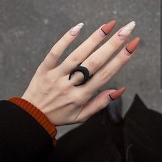 Matte nails are so popular in the beauty world these days. In case you were looking for perfect nails, we have picked out 40 matte nail designs for you to try. Perfect Nails, Gorgeous Nails, Love Nails, Fun Nails, Weird Nails, Matte Nail Colors, Matte Nails, Acrylic Nails, Coffin Nails