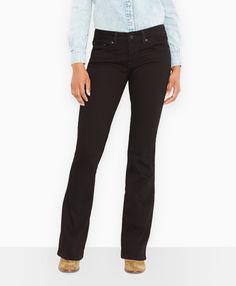 Levi's 518™ Boot Cut Jeans - Black Pressed - Boot Cut