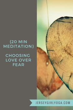 We often live our lives worrying about what has happened or what will happen. This fear keeps us from love and expansion. By focusing on the breath and PHYSICALLY allowing the body to expand we can shift the mind from a state of fear to a place of love. This 20-minute meditation allows you to release fear and open your heart and mind to seeing the good and possibility in every situation.  #meditation #20minmeditation #yoga #loveoverfear #chooselove #releasefear #meditate
