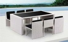Renava Taurus - Table and 6 Chair Patio Dining Set $1099