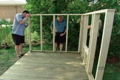 Great comprehensive video on how to build a play house for your kids. Makes it easy!