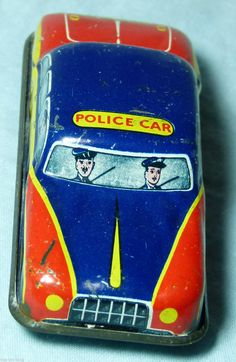 TIN PLATE TOY GLAM TOYS POLICE CAR 1950S/60S | eBay Toys Uk, Tin Toys, Police Cars, Wales, 1950s, Plate, Ebay, Products, Welsh