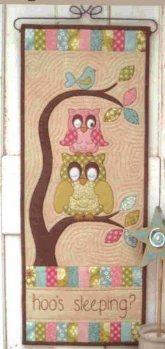 Hoo's Sleeping? by Cottage Creek Quilts