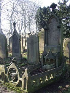 Taken in Haworth Churchyard, in Yorkshire.