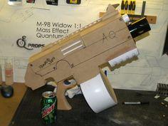 Building a Warhammer 40k Bolter Boltgun Prop Cosplay Larp - removable magazine, barrel and slide.