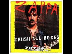 Frank Zappa Crush All Boxes (unreleased LP 1980) - YouTube