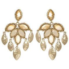 Kendra Scott Nora Dove Earrings from @Layla Grayce #laylagrayce #wedding #jewelry #earrings
