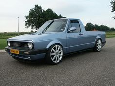 "1983 VW Rabbit pickup (""Caddy"")"