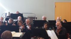 MidPointe Library in West Chester, West Chester Symphony, Feb 8 2014