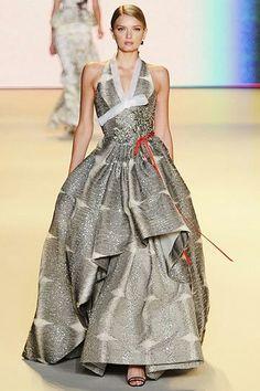 Hanbok inspired gown by Carolina Herrera