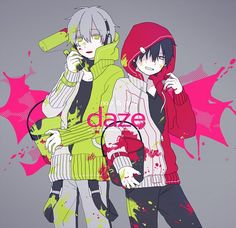 Kagerou Project - Konoha and Shintarou