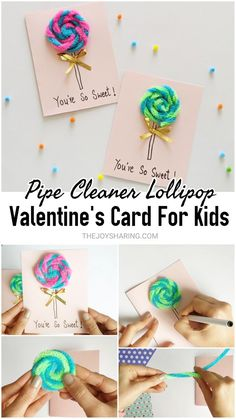 Surprise family and friends by making this sweetest valentine's card with kids! day gift boyfriend day gift girl day gift him day gift ideas day gift kids day gift teacher Surprise family and friends by making this sweetest valentine's card with kids! Valentines Day Cards Handmade, Valentine Crafts For Kids, Valentines Day Activities, Homemade Valentines, Valentine Ideas, Holiday Activities, Kids Crafts, Easy Crafts, Valentine's Cards For Kids
