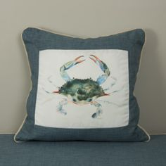 Crab with Border Front